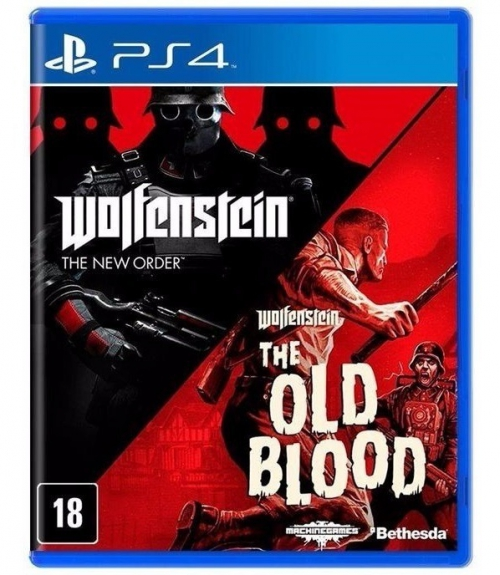 WOLFENSTEIN THE NEW ORDER E OLD BLOOD _ PS4
