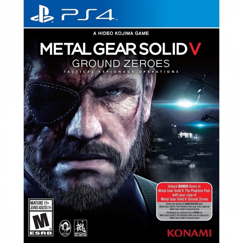 metal gear solidy V PS4