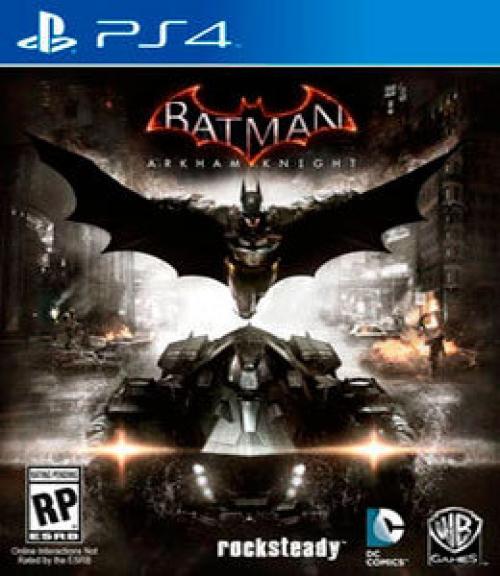 BATMAN ARKHAM KNIGHT_ PS4